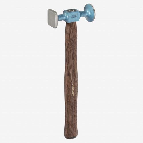 Picard 13oz Planishing hammer, short pattern, smooth faces - KC Tool