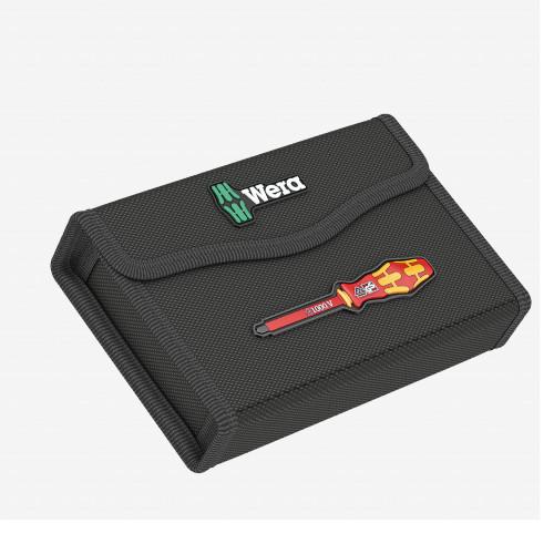Wera 136462 Textile Storage Case for KK VDE 17 Extra Slim, Empty