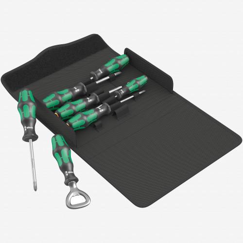 Wera 105624 Kraftform Plus 300/7 Screwdriver Set 2, PH/SL, 7 Pieces (WR105624) - KC Tool