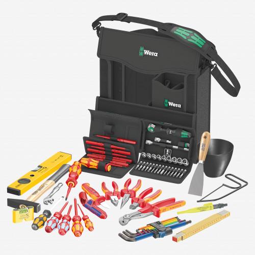 Wera 134025 2go E 1 Tool Set for Electricians, 73 Pieces - KC Tool