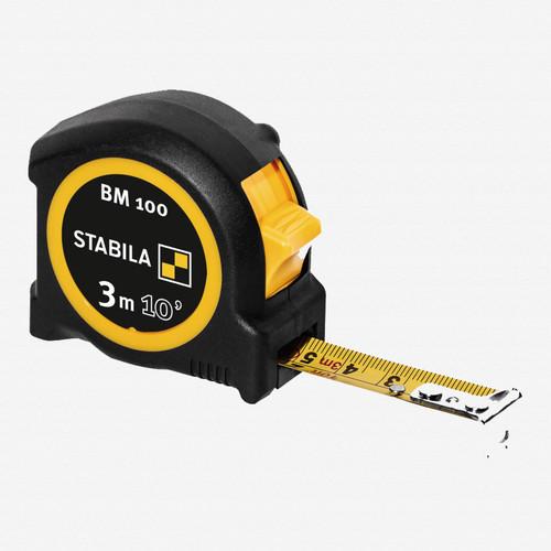 Stabila 30810 Type BM100 Tape Measure, 3m/10ft - KC Tool