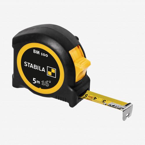 Stabila 30816 Type BM100 Tape Measure, 5m/16ft - KC Tool