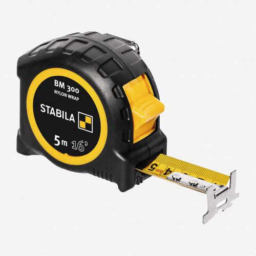 Stabila 30616 Type BM300 Tape Measure, 5m/16ft - KC Tool