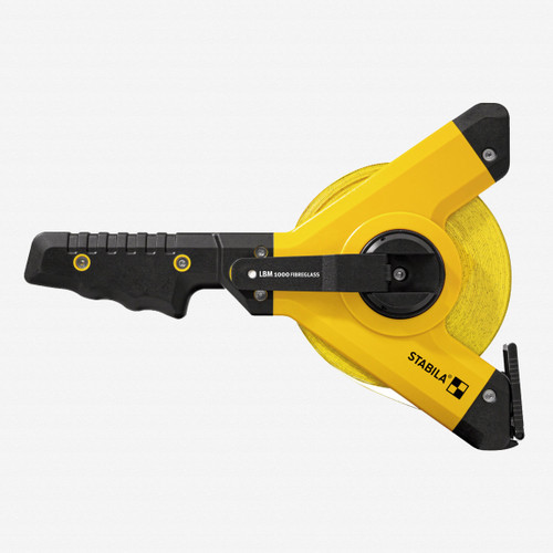 Stabila 30935 LBM1000 Steel Y-Frame Tape, Imperial Scale, 330ft - KC Tool