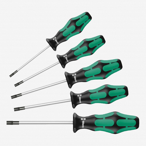Wera 345220 Kraftform Plus Torx Screwdriver Set - KC Tool