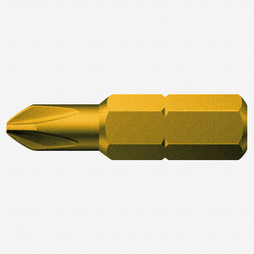 Wera 380158 #1 x 25mm Phillips Reduced Shaft Diameter Bit - KC Tool