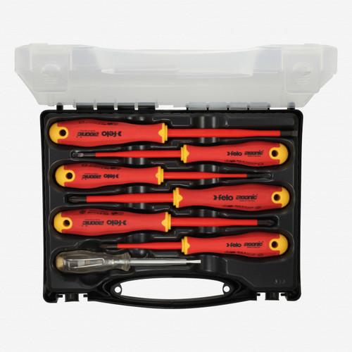 Felo 62745 E-slim Insulated 7 Piece Screwdriver Set - KC Tool