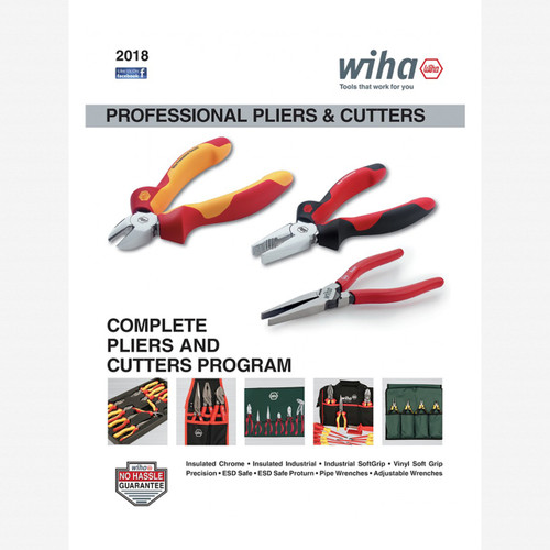 FREE! Wiha Professional Pliers/Cutters and Crimpers Catalog - KC Tool