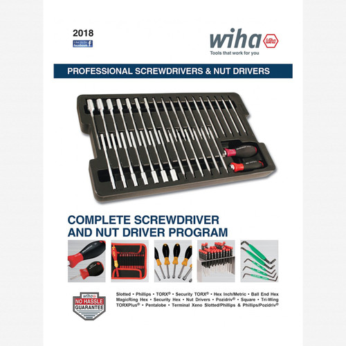 FREE! Wiha Professional Screwdrivers and Nut Drivers Catalog - KC Tool