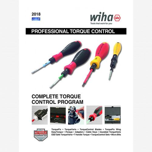 FREE! Wiha Professional Torque Control Tools Catalog - KC Tool