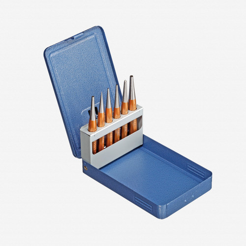 Gedore 113 D Drift punch set 6 pcs in metal case - KC Tool