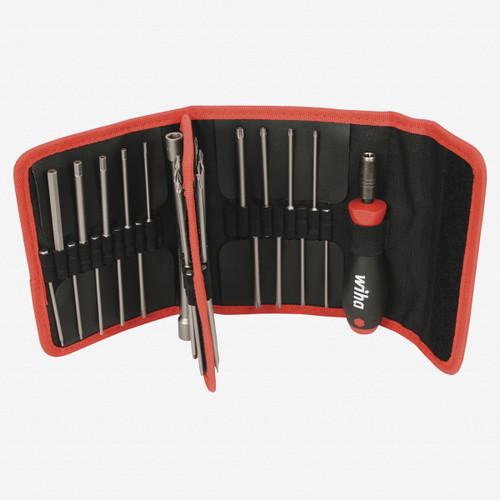 Wiha 76099 37 Piece Security Power Blade Hex Inch Set - KC Tool