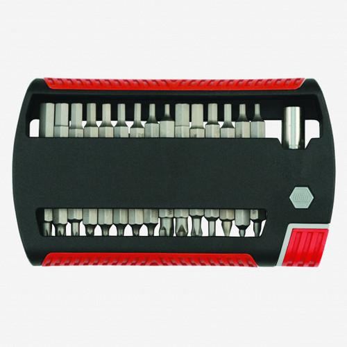 Wiha 79493 31 Piece Combo XLSelector Bit Set (Slotted/Phillips/Hex Inch/Hex Metric/Torx/Square) - KC Tool