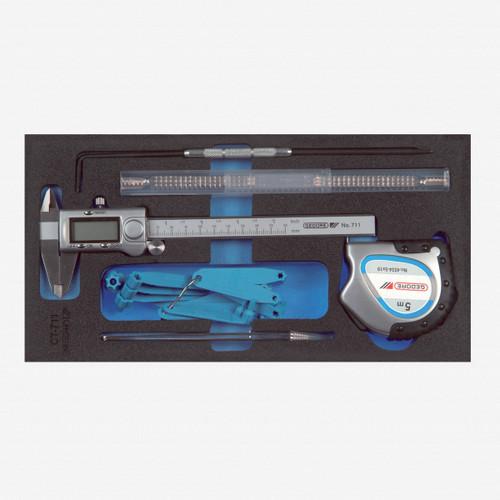 Gedore 1500 CT1-711 Precision mechanics in 1/3 CT module - KC Tool