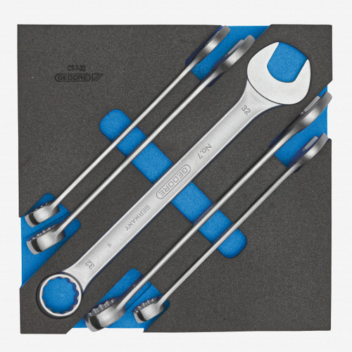Gedore 1500 CT2-7-32 Combination spanner set in 2/3 CT module - KC Tool
