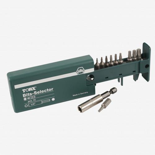 Wiha 79242 10 Piece Torx Bit Selector (T5-T30) - KC Tool