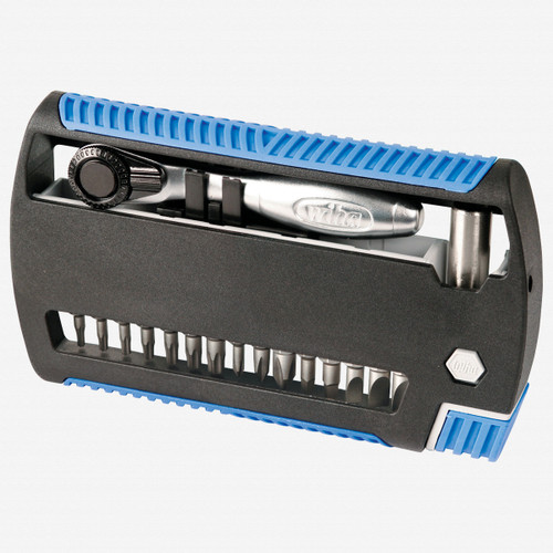 Wiha 79499 17 Piece XLSelector Bit Ratchet Set (Torx Version) - KC Tool
