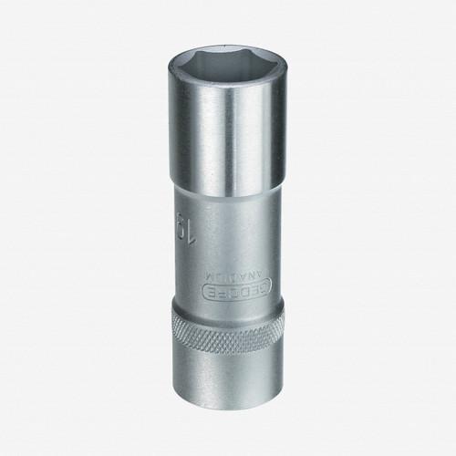 "Gedore 19 L 15 Socket 1/2"", long 15 mm - KC Tool"
