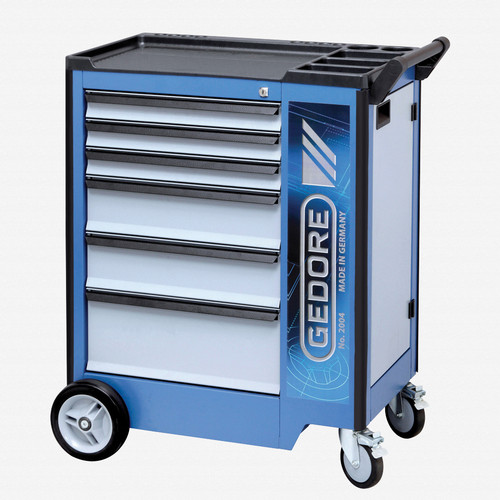 Gedore 2004 0321 Tool trolley with 6 drawers - KC Tool