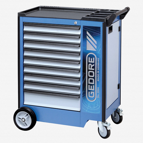 Gedore 2004 0810 Tool trolley with 9 drawers - KC Tool