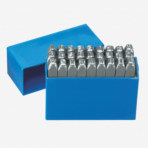 Gedore 2201-6 Letter punch set 27 pieces - KC Tool