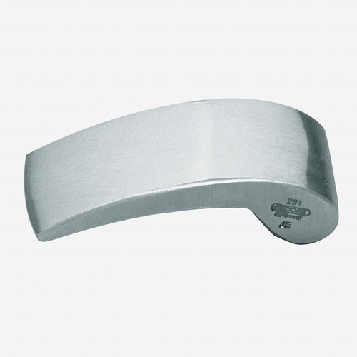 Gedore 281 Planishing hand anvil 130x55x36 mm - KC Tool