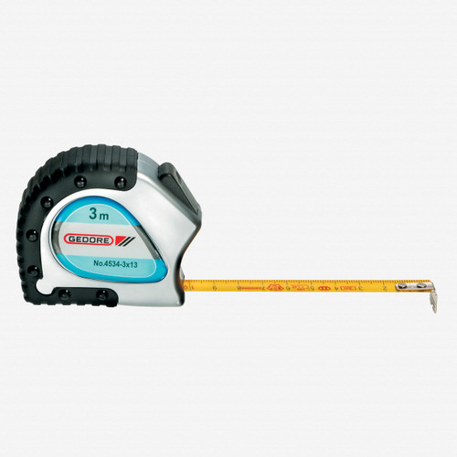 Gedore 4534-3 Steel tape measure 3 m - KC Tool