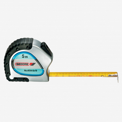 Gedore 4534-5 Steel tape measure 5 m - KC Tool