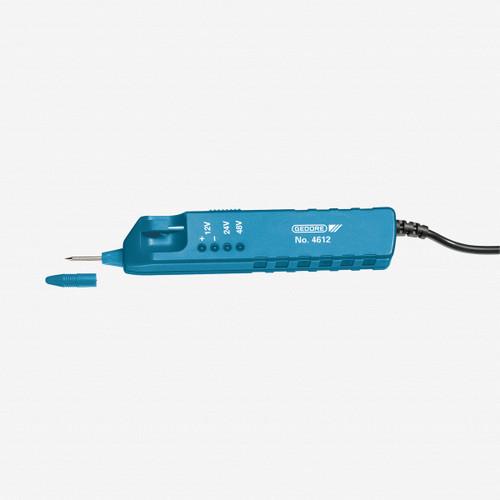 Gedore 4612 Voltage tester 3-48 V AC/DC - KC Tool