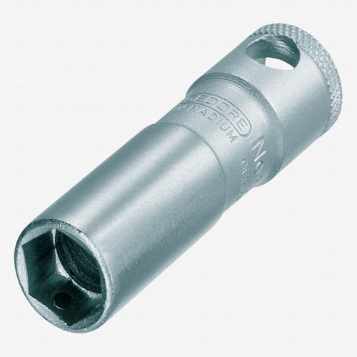 """Gedore 52 MH Spark plug socket with magnet 20.8 mm 3/8"""" - KC Tool"""