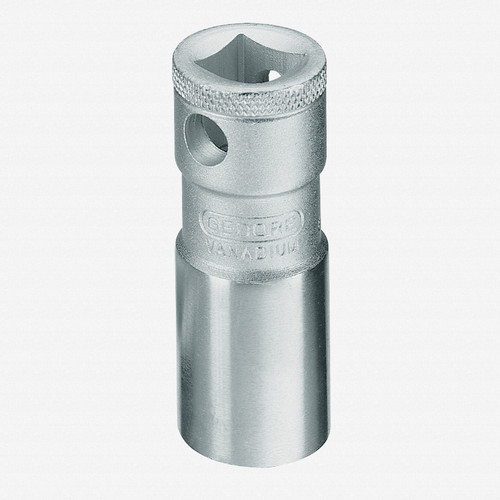 """Gedore 57 Spark plug socket with retention spring 18 mm 1/2"""" - KC Tool"""