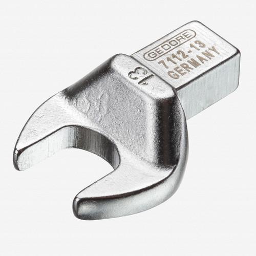 Gedore 7112-13 Rectangular open end fitting SE 9x12, 13 mm - KC Tool