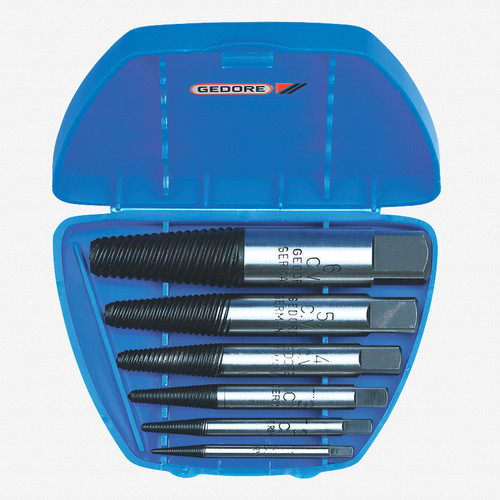 Gedore 8551-88 Bolt extractor set 8 pcs M3-M45 - KC Tool