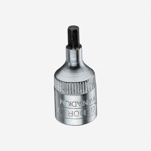 """Gedore IN 20 6 Screwdriver bit socket 1/4"""" hex 6 mm - KC Tool"""