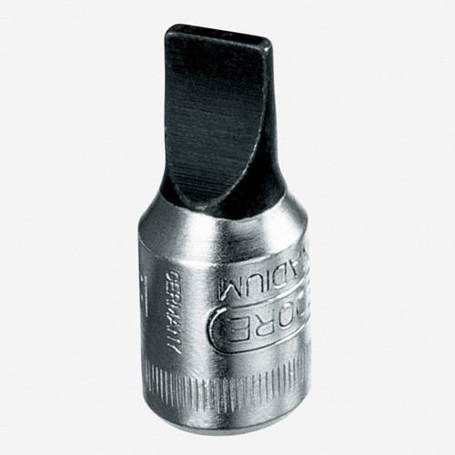 """Gedore IS 20 6.5x1.2 Screwdriver bit socket 1/4"""" 6.5x1.2 mm - KC Tool"""
