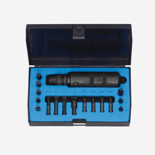 """Gedore K 1900-018 Hand-operated impact driver set 1/2"""" - KC Tool"""