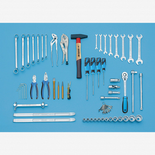 Gedore S 1151 A Tool assortment 69 pcs INCH - KC Tool