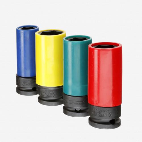 "Gedore K 19 LS-004 Impact socket set 1/2"", 4 pcs - KC Tool"