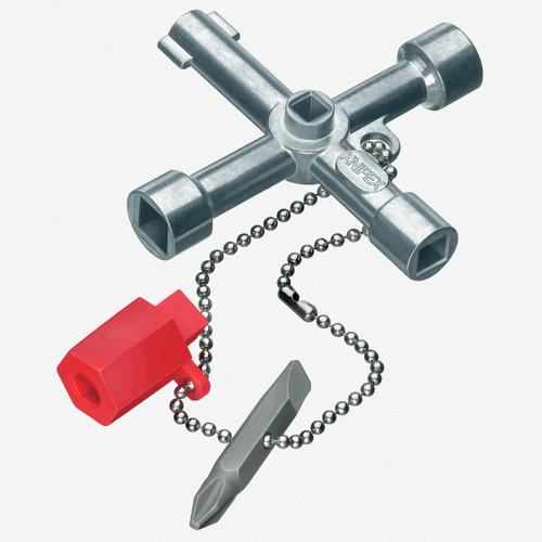 Knipex 00-11-03 Control Cabinet Key for all standard cabinets and shut-off systems - KC Tool