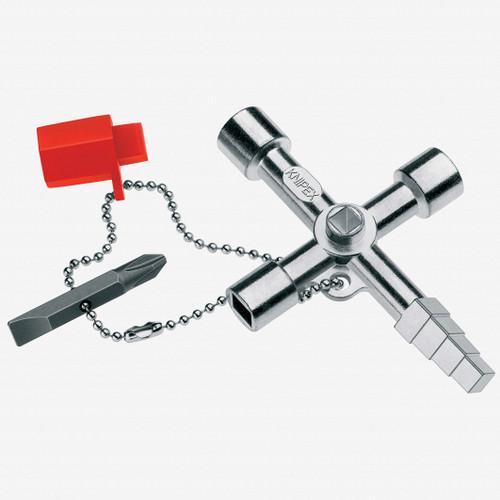 Knipex 00-11-04 Profi-Key for all standard shut-off systems - KC Tool