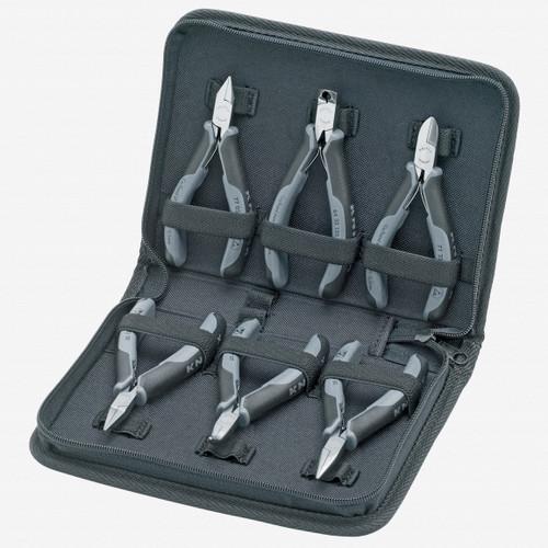 Knipex 00-20-17 6 Piece ESD Electronics Pliers Set - KC Tool