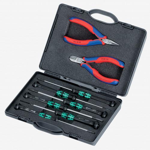 Knipex 00-20-18 8 Piece Electronics Tool Set - KC Tool