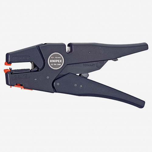 Knipex 12-50-200 Self-Adjusting Wire Insulation Strippers - AWG 13-5 - KC Tool
