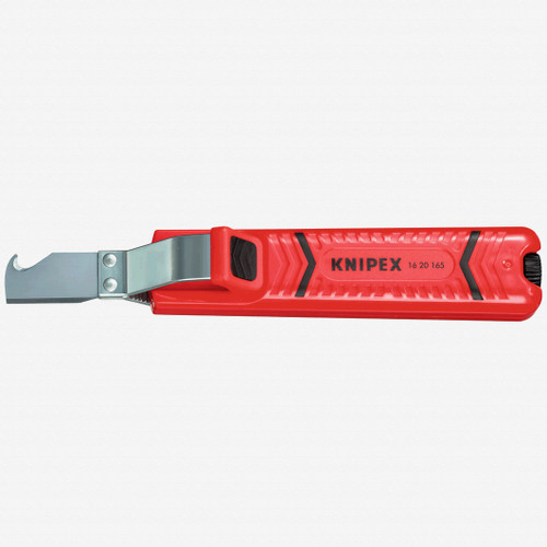 Knipex 16-20-165 Dismantling Tool w/ Knife and Hook Blade - 8 - 28 mm dia - KC Tool