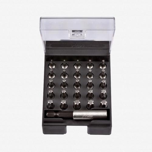Felo 50803 Torx Insert Bit Set + Magnetholder - KC Tool