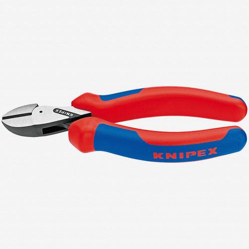 "Knipex 73-02-160 6.3"" X-Cut Diagonal Cutter - MultiGrip - KC Tool"