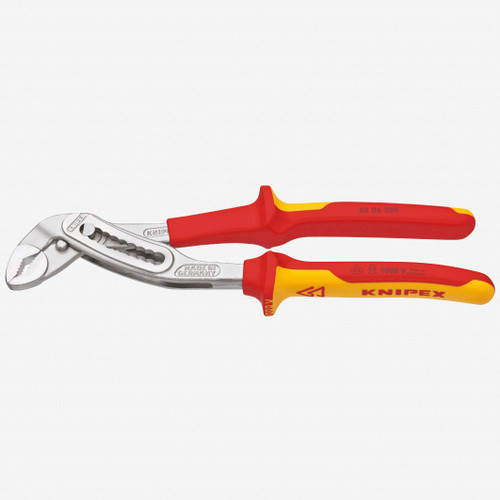 """Knipex 88-06-250 10"""" Alligator Pliers - Insulated, Chrome - KC Tool"""