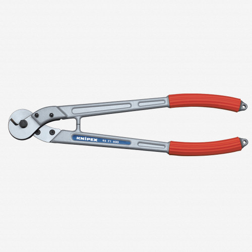 "Knipex 95-71-600 23.6"" Wire Rope and ACSR-Cable Cutters - Plastic Grip - KC Tool"