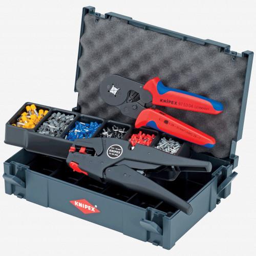 Knipex 97-90-10 Crimp Assortment Set - KC Tool
