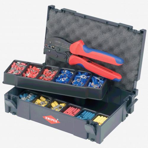 Knipex 97-90-21 287 Piece PreciForce Crimp Assortment Set - KC Tool